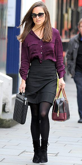 Pippa Middleton's outfit is work-perfect. http://www.peoplestylewatch.com/people/stylewatch/gallery/0,,20627175,00.html#