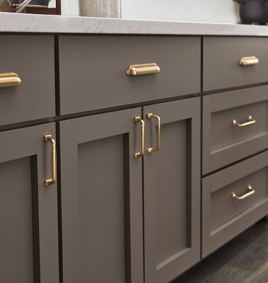 Mission Drawer Pull Rejuvenation Grey Kitchen Cabinets Kitchen Style Kitchen Interior