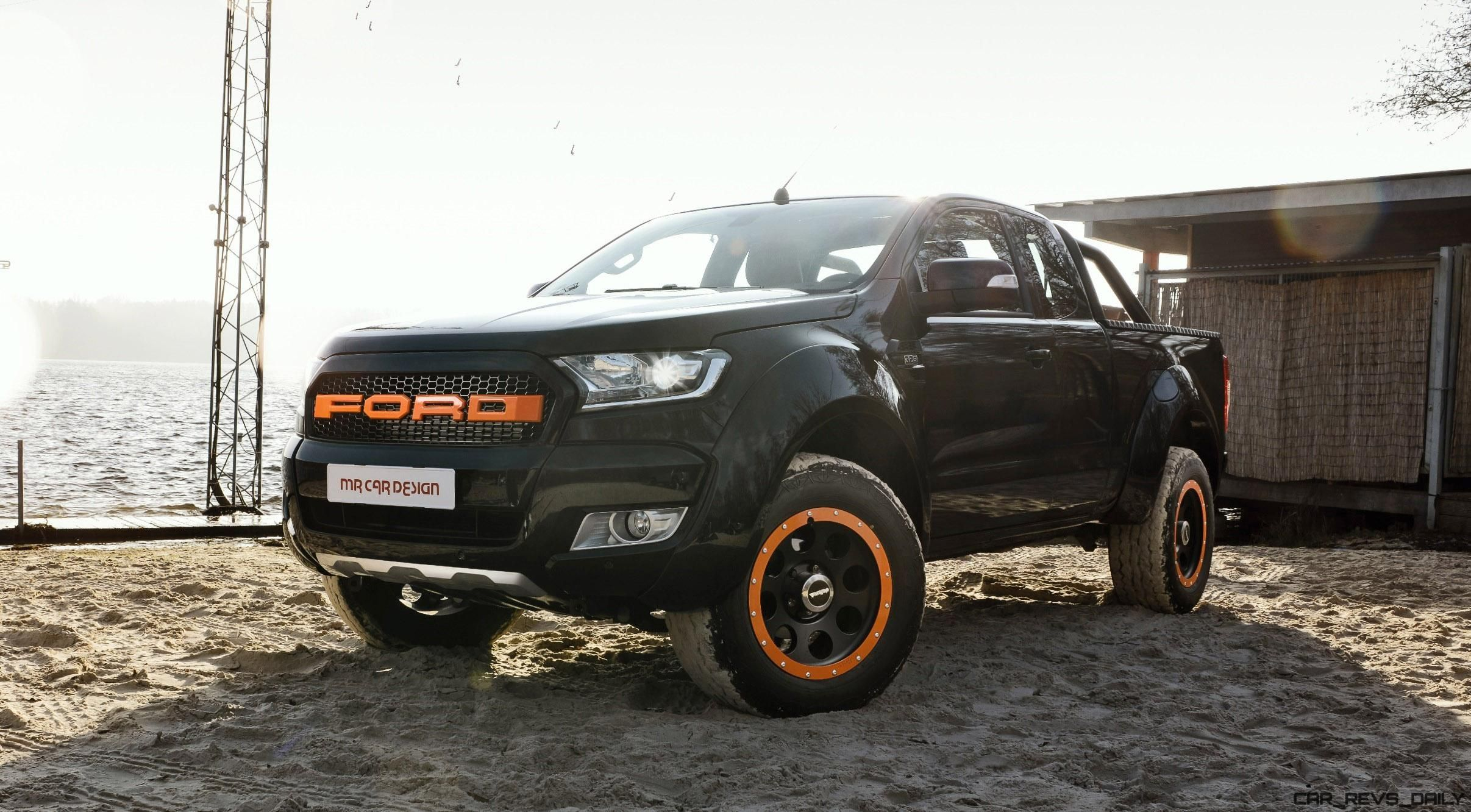 2017 Ford Ranger By Mr Car Design Is Global Raptor Junior Car