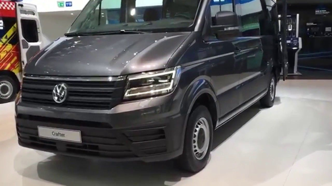 2019 Volkswagen Crafter with new details and power