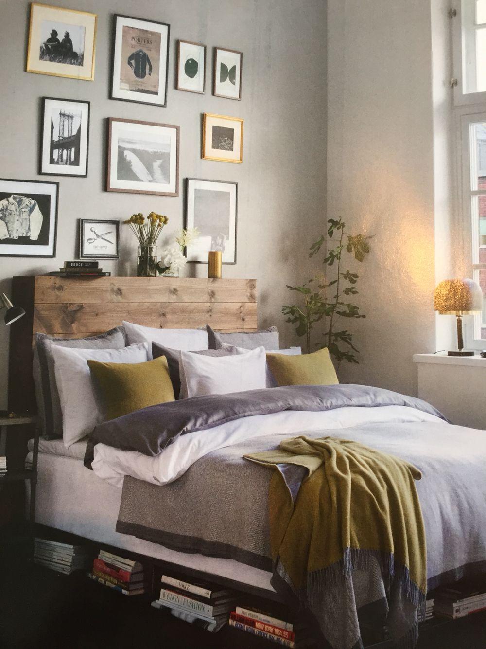 DIY sänggavel trä Idéer för hemmet Pinterest Sänggavel, Trä och Sovrum