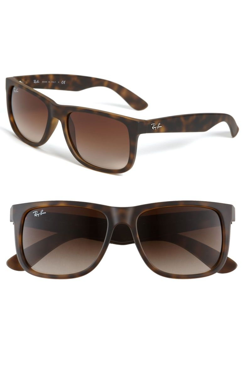 a7decf8b2f Free shipping and returns on Ray-Ban Youngster 54mm Sunglasses at Nordstrom.com.  Raised logo script brands the temples of Wayfarer®-inspired sunglasses ...