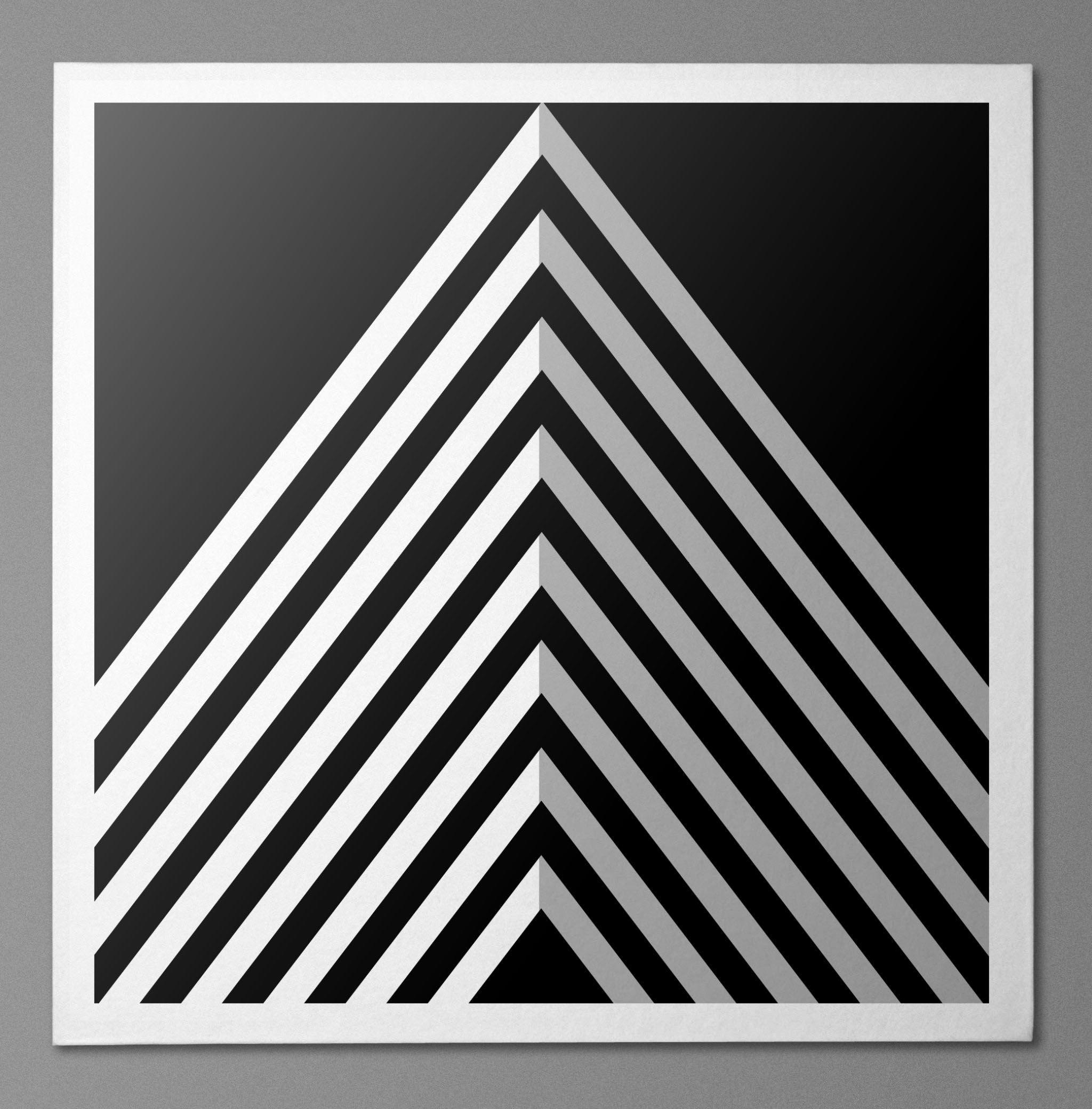 A Black And White Design For A Black And White Competition Symmetrical Balance Geometric Art Geometric