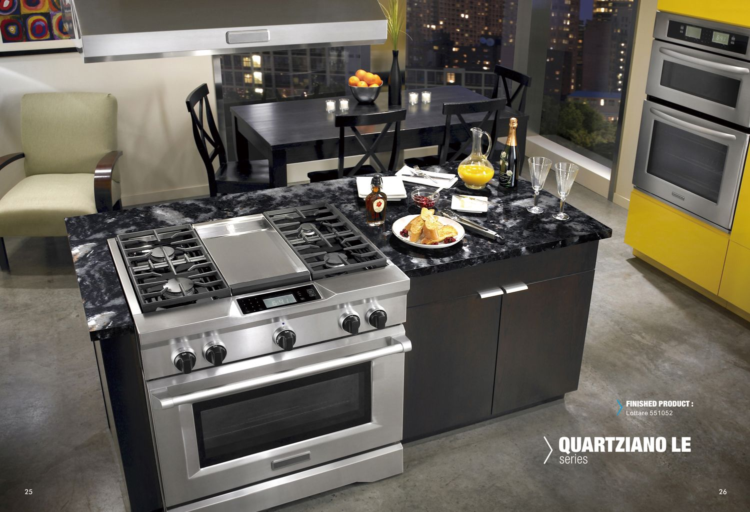www.stainlesssteeltile.com likes this inspirational kitchen design