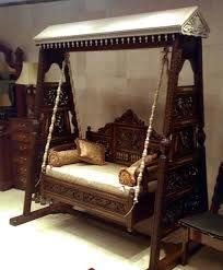 Design Pakistani Traditional Swing Jhula Cerca Con
