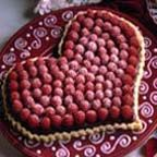 Raspberry Chocolate Heart Tart - For Valentine's Day. You won't believe how easy this beautiful raspberry chocolate tart is to make.
