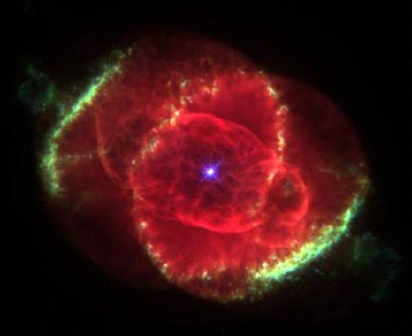 Jesus Astronomy Picture Day Nebula   NGC6543: The Cat's Eye Nebula – Hubble Image (NASA, AURA, STScI)