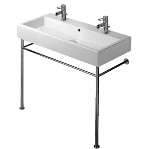 Double Faucet Console Sink. Duravit Washbasin Set ...