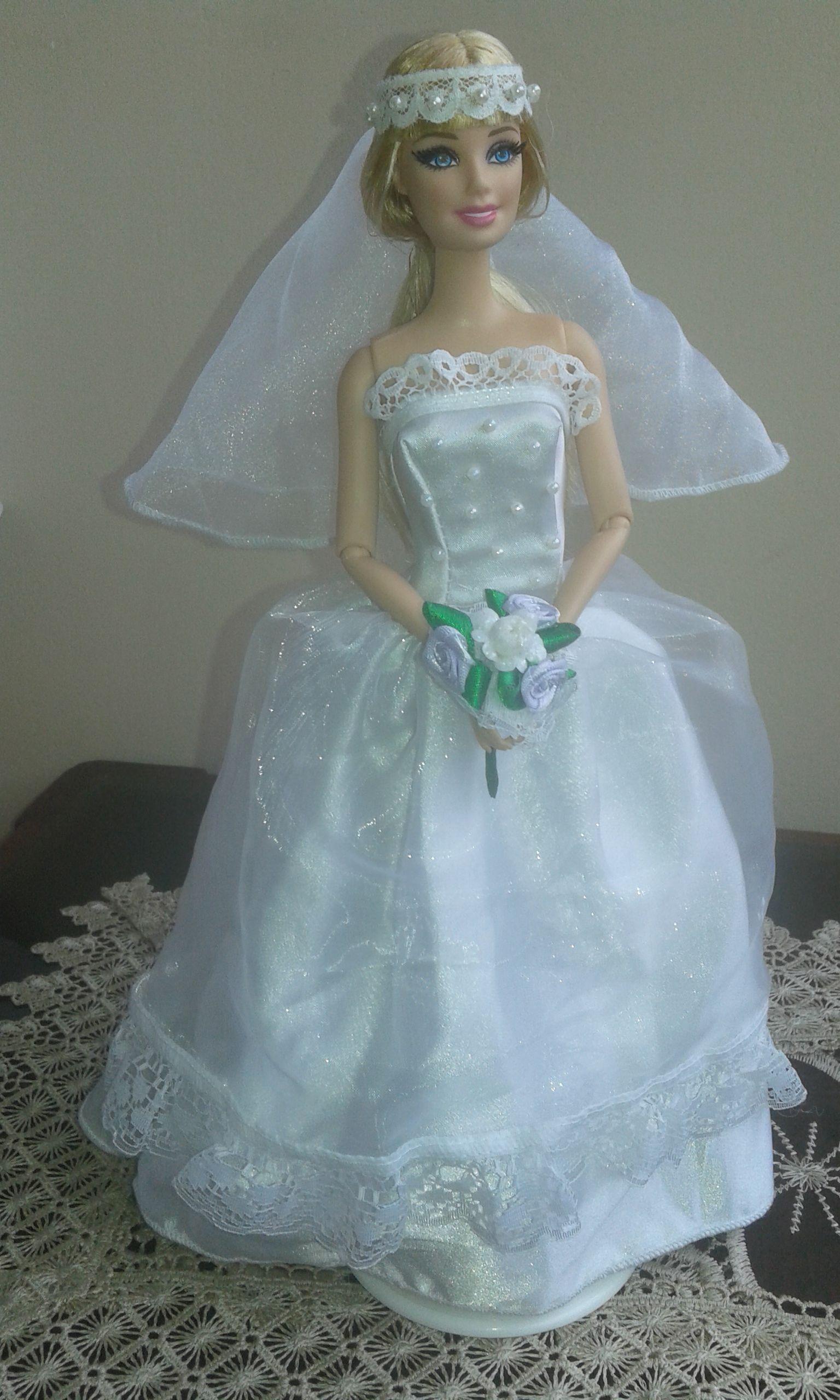 Pin de JosiePerú en Vestidos Barbie Confeccionados | Pinterest ...