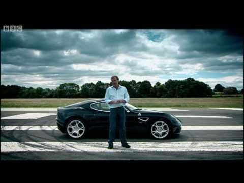 alfa romeo 8c competizione quoting jeremy clarkson: can a car be art