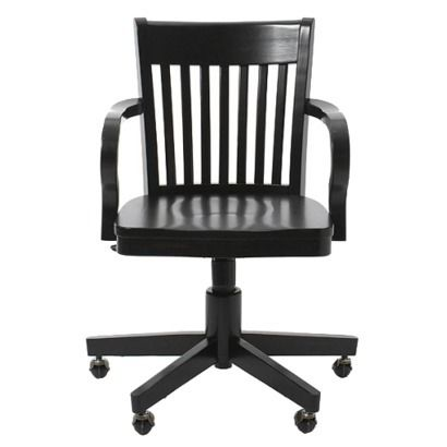 Madison Swivel Office Chair Antique Black 119 99 Office Chair