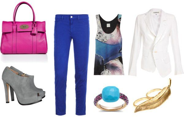 Styling Tips for Bright Blue Pants