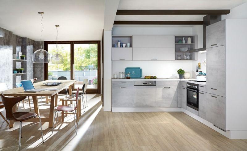 Küchentrends Stein, Beton und Metall (mit Bildern