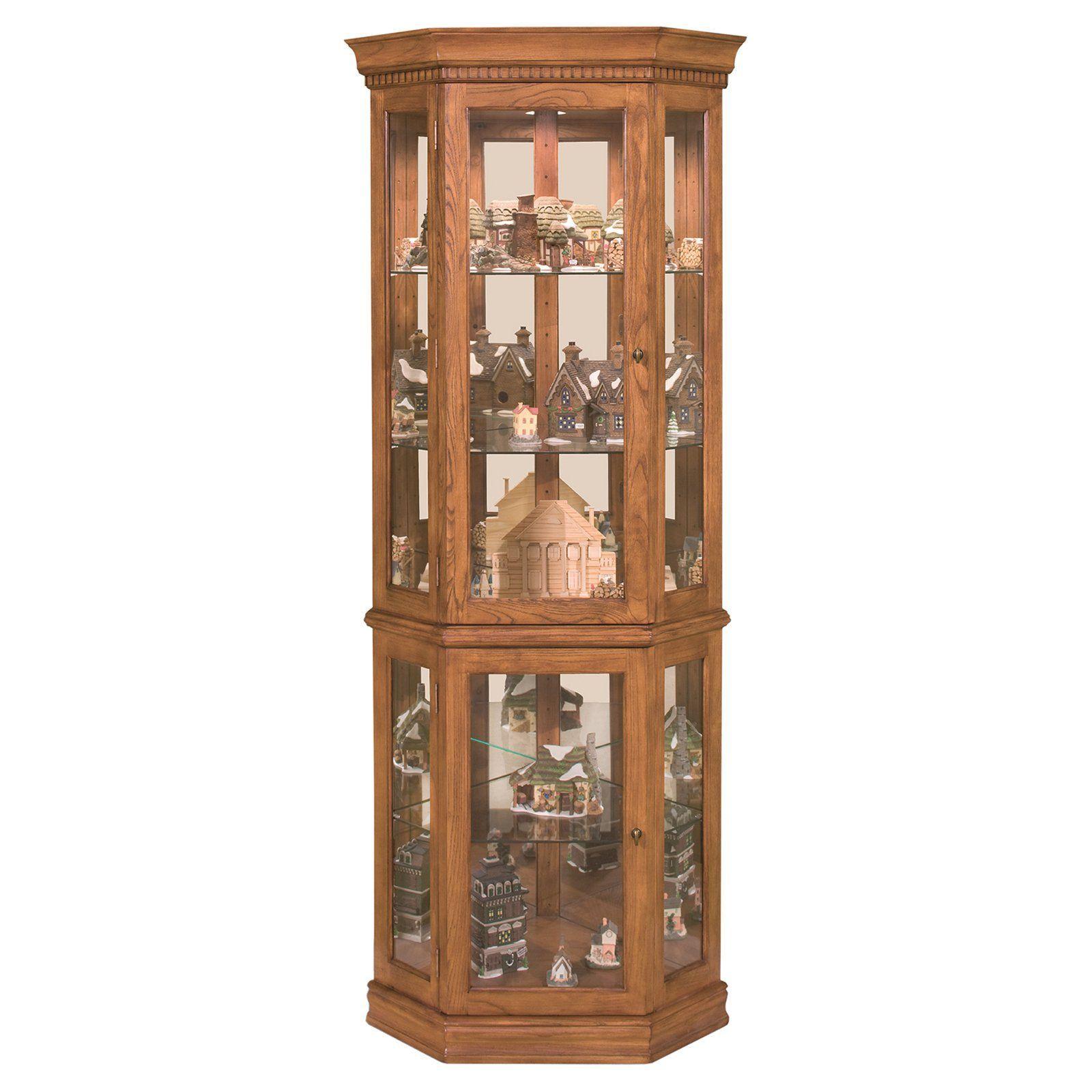 Philip Reinisch pany Lighthouse Corner Curio Cabinet