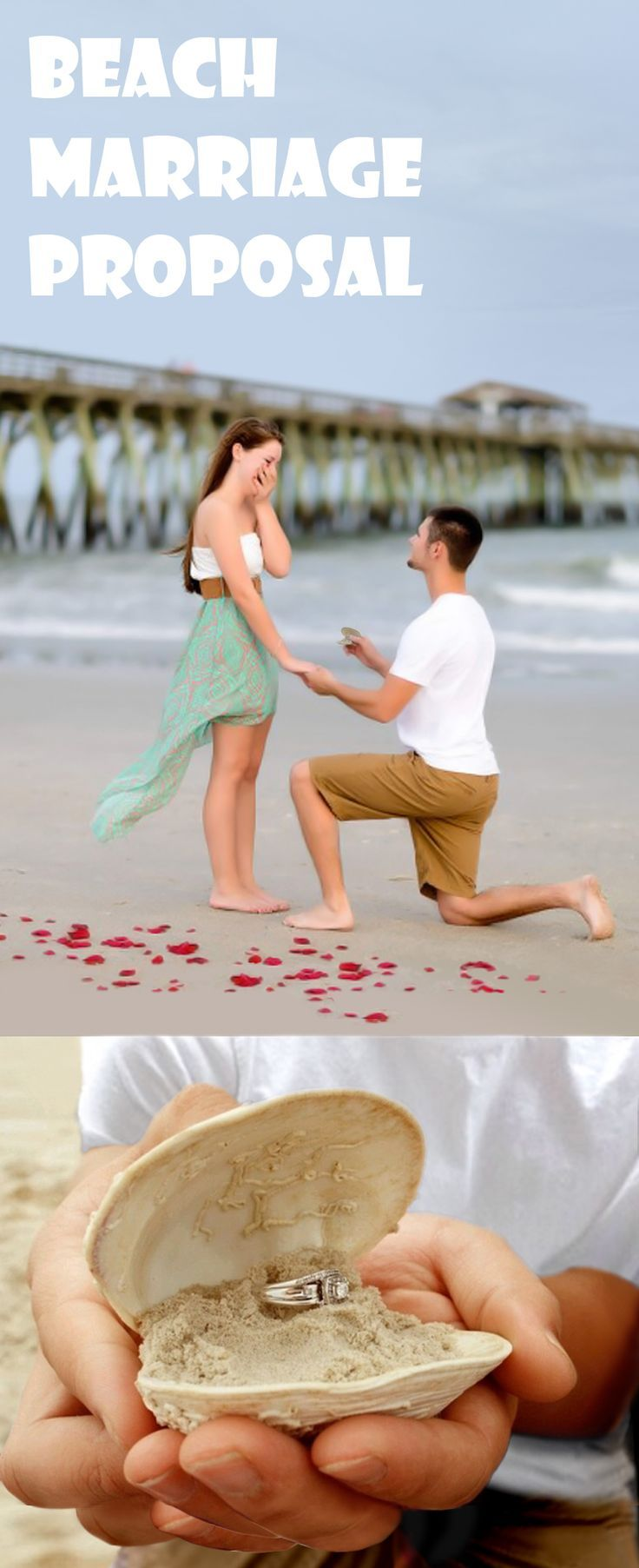 33 awesome marriage proposals you couldn't say no to in 2018 | beach