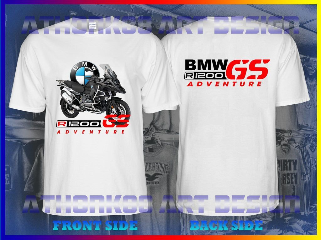 NEW BMW GS R 1200 BMW MOTORCYCLE T-SHIRT