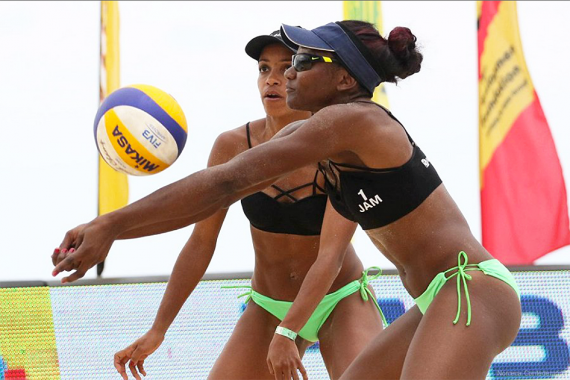Jamaica National Volleyball Team Advances To The Semifinals Of The Casova 2nd Round Qualifiers Sport