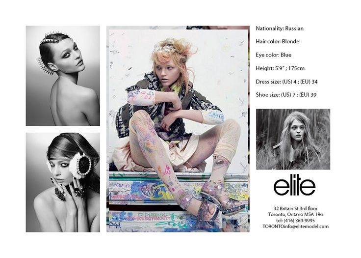 images of fashion model cards | Chicago Fashion Photographer : Alina ...