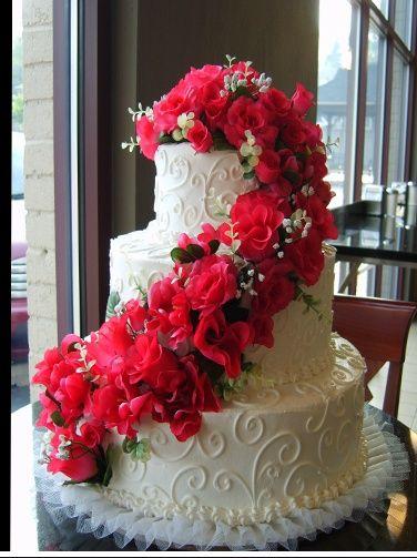 Oakmont Bakery Beach Cake Wedding