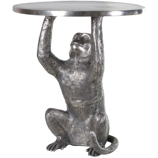 Monkey Side Table ($310) ❤ Liked On Polyvore Featuring Home, Furniture,  Tables