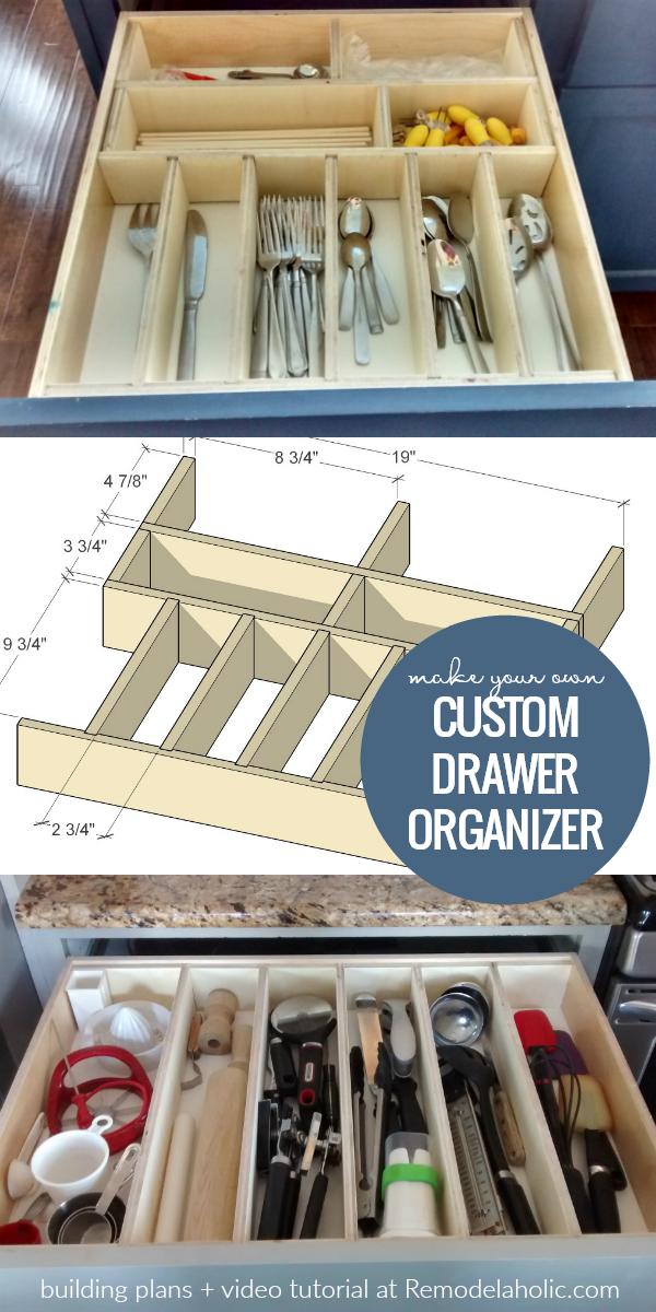 Utensil Drawer Organizer Adjustable And Customizable In 2020 Utensil Drawer Organization Diy Drawers Kitchen Drawer Organization