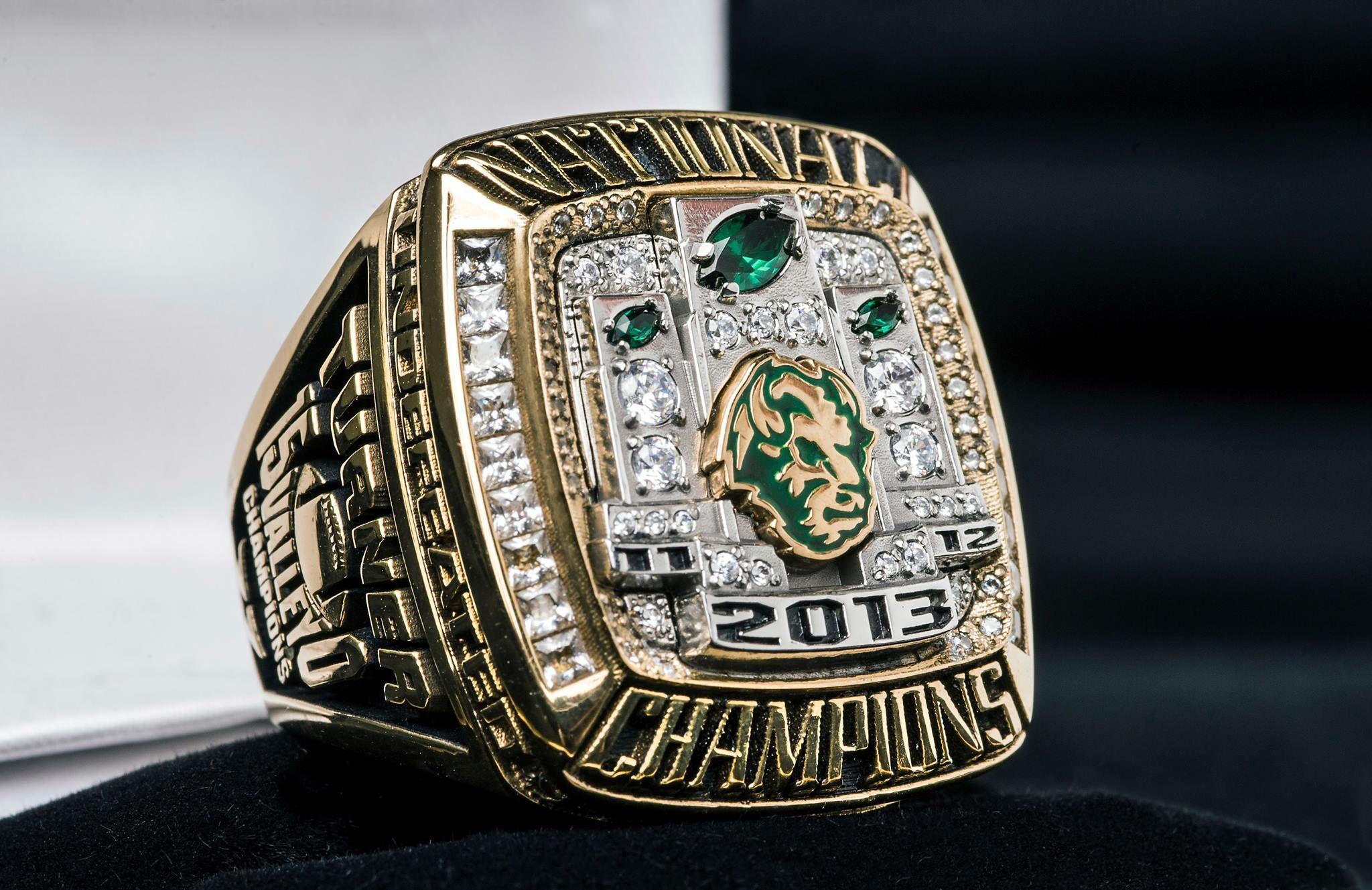 NDSU 2013 National Championship Ring! NDSU Bison