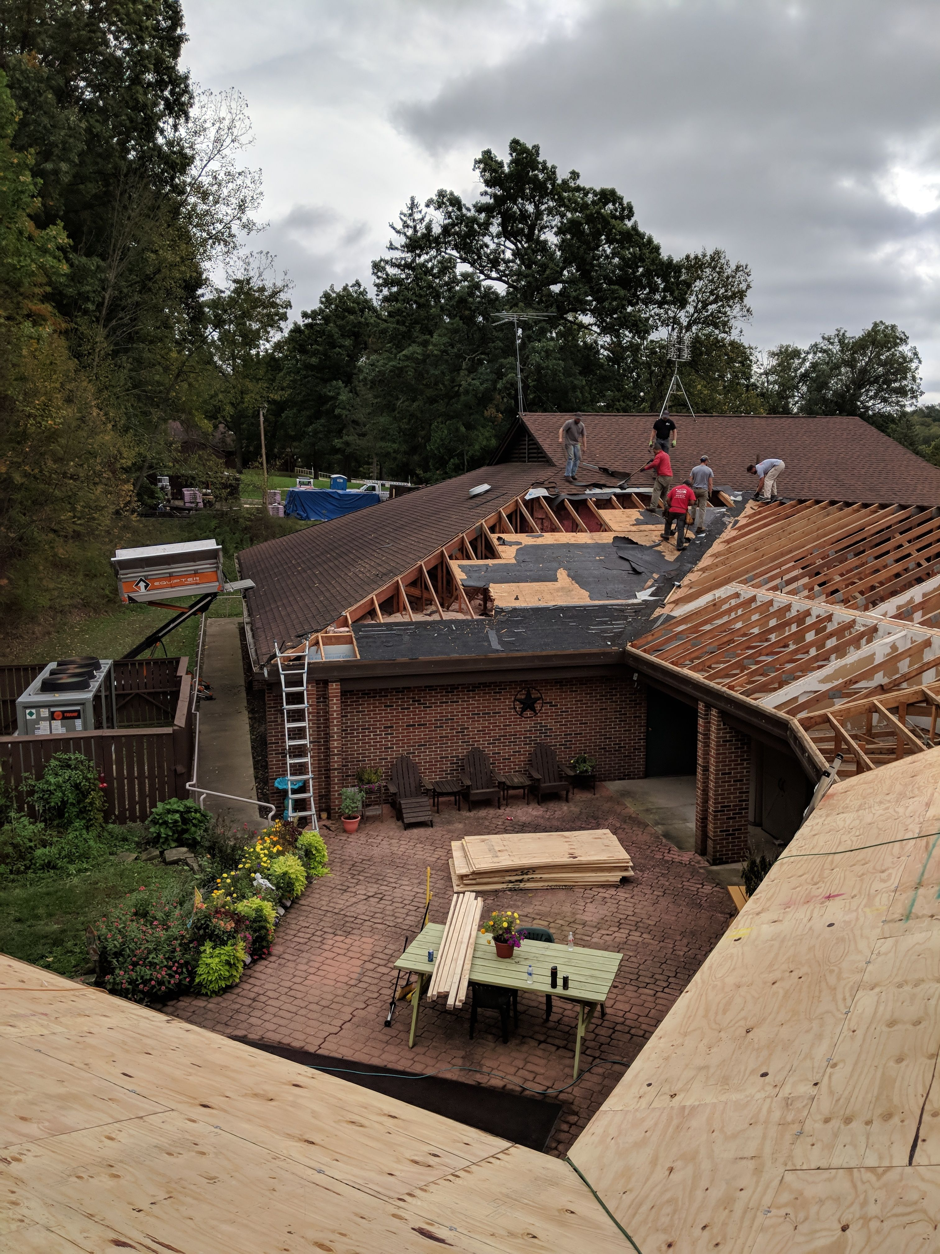 We Love Our Roofing Crews At Allstate Exteriors They Can Complete Most Roofing Jobs In One Day Quality Crews Make Roofing Jobs Outdoor Furniture Sets Roofing