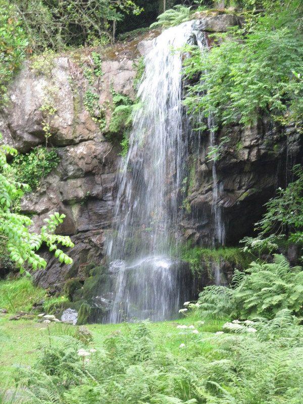 The waterfall at Kilfane.