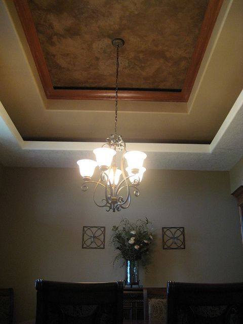 Tray Ceiling Dining Room Italian Venetian Plaster Bella Faux Finishes Sioux Falls South Dakota Bedroom False Ceiling Design Tray Ceiling Dining Room Colors