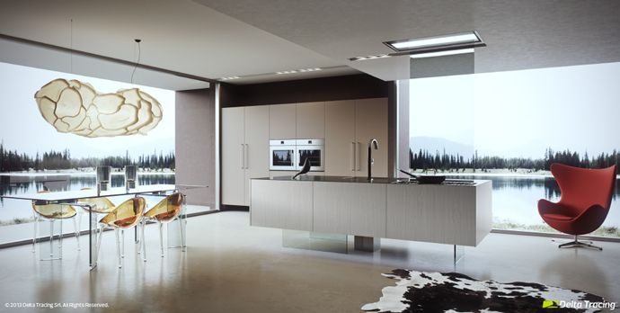 Contemporary Kitchens That Follow The Latest Trends  Kitchen Beauteous Contemporary Kitchen Chairs 2018