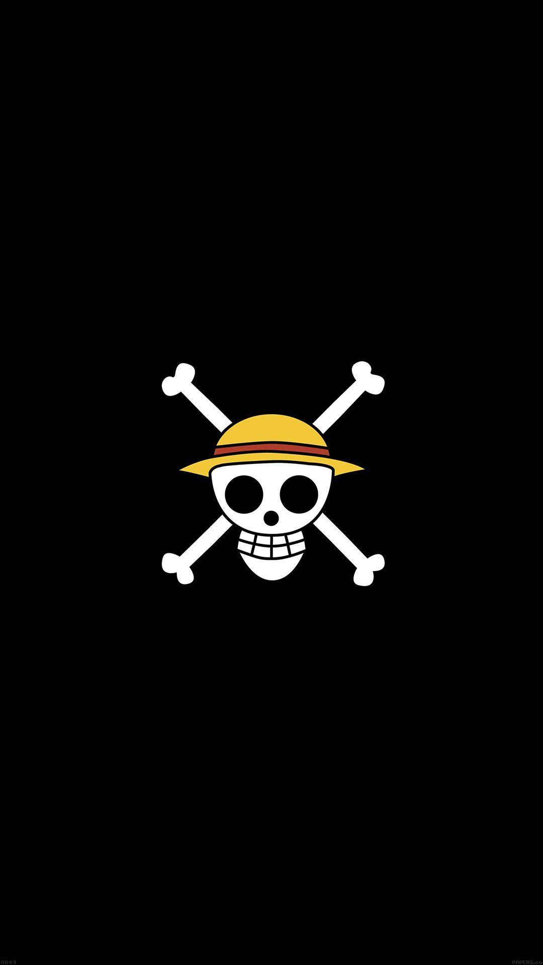 Wallpaper One Piece Iphone 6 di 2020   Seni gelap, Objek ...