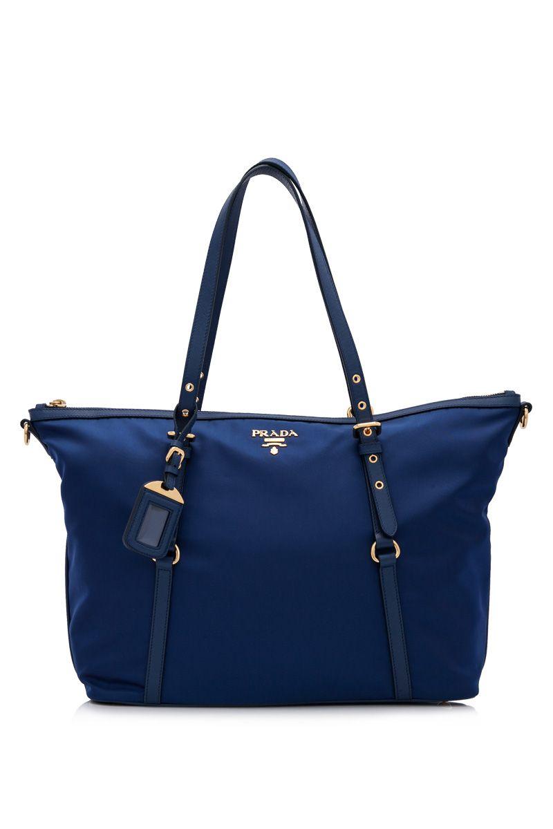 7b2b2af30fc PRADA - Prada Tessuto Saffiano Shopping Tote   Reebonz   Bag Much ...