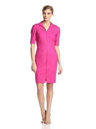 68% OFF Lafayette 148 New York Women's Larissa Elbow Sleeve Dress (Glam Pink)