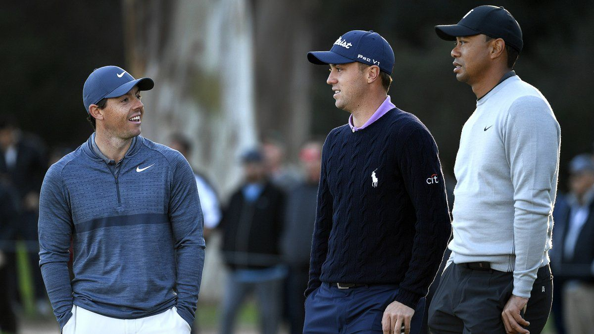 Both Justin Thomas and Rory McIlroy complained after