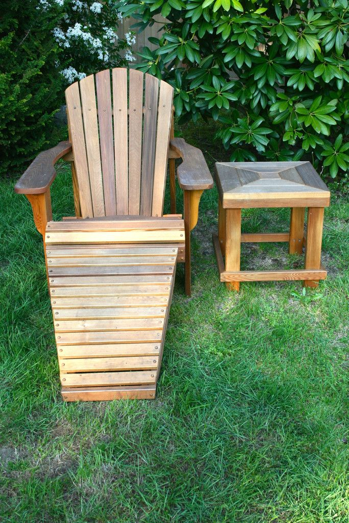 Seattle Cedar:: Chalet Adirondack Chair | $299