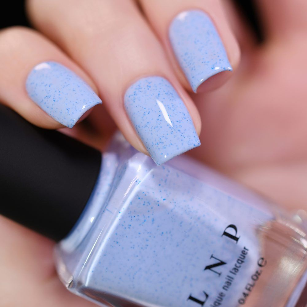 Bluebird - Perano Blue Speckled Nail Polish by ILNP