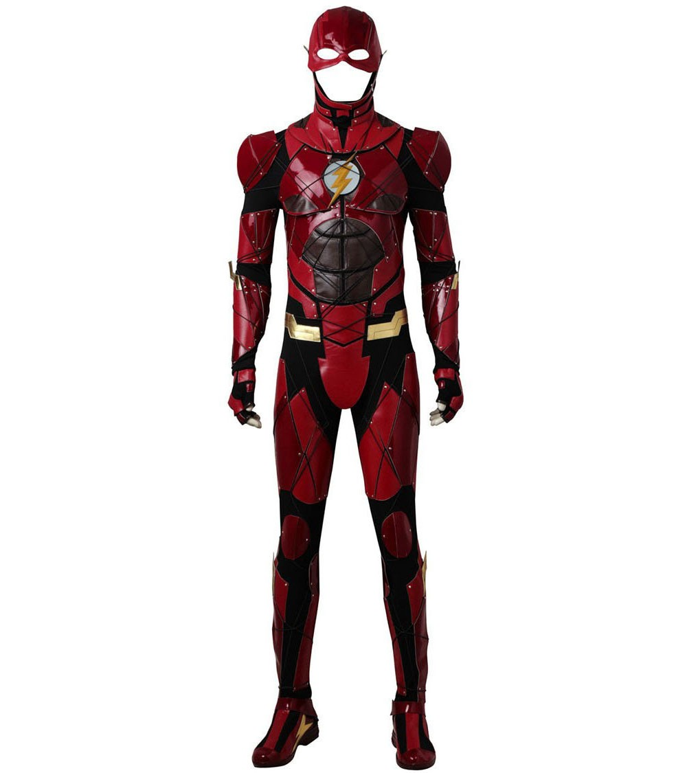 Justice League The Flash Barry Allen Cosplay Costume With