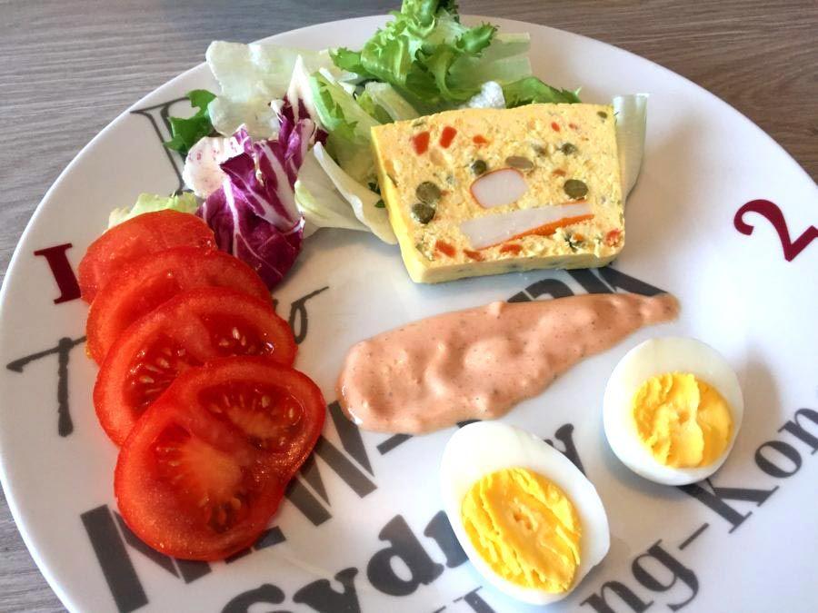 Terrine de mac doine et surimi au thermomix tm5 tm31 salade thermomix cooking chef et cooking - Cuisine legere thermomix ...