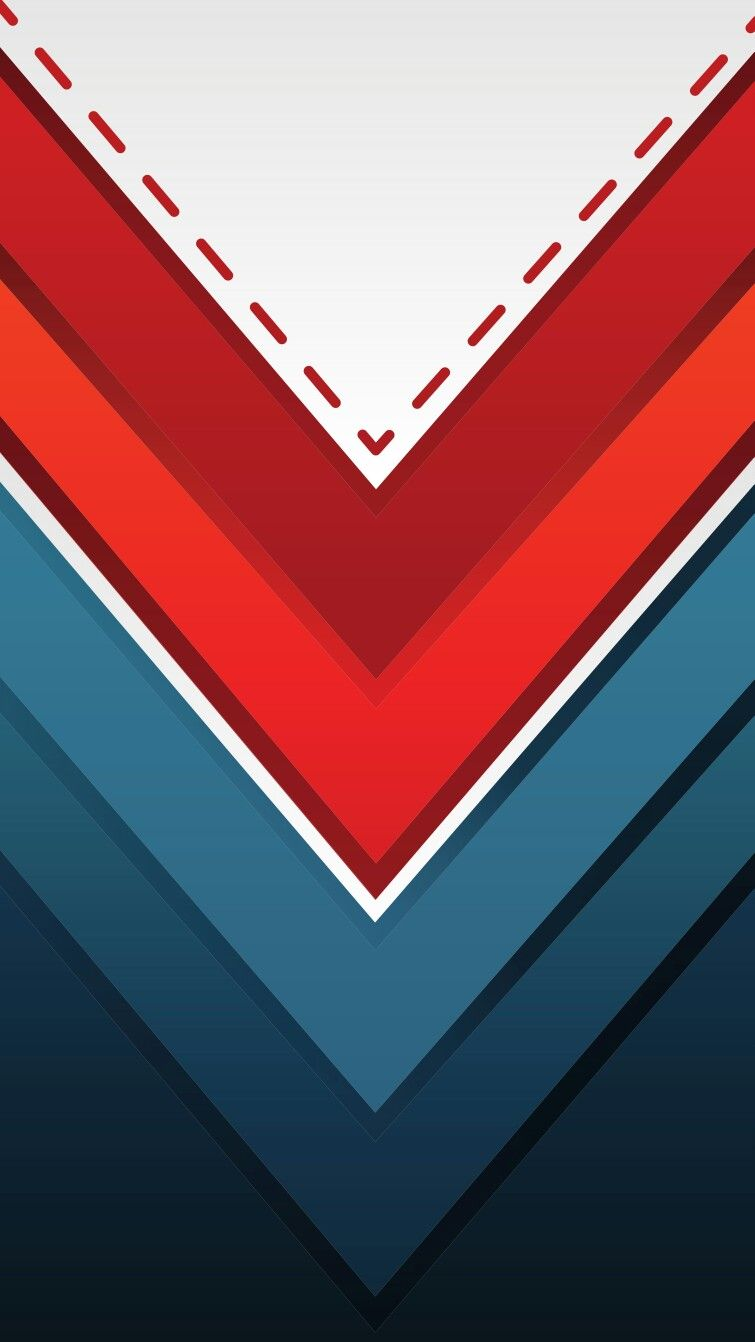 Red White And Blue Chevron Wallpaper In 2019 Chevron