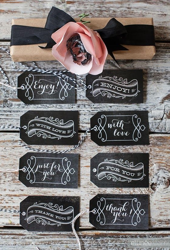 The best free gift tag printables i printables pinterest the best free gift tag printables negle Choice Image