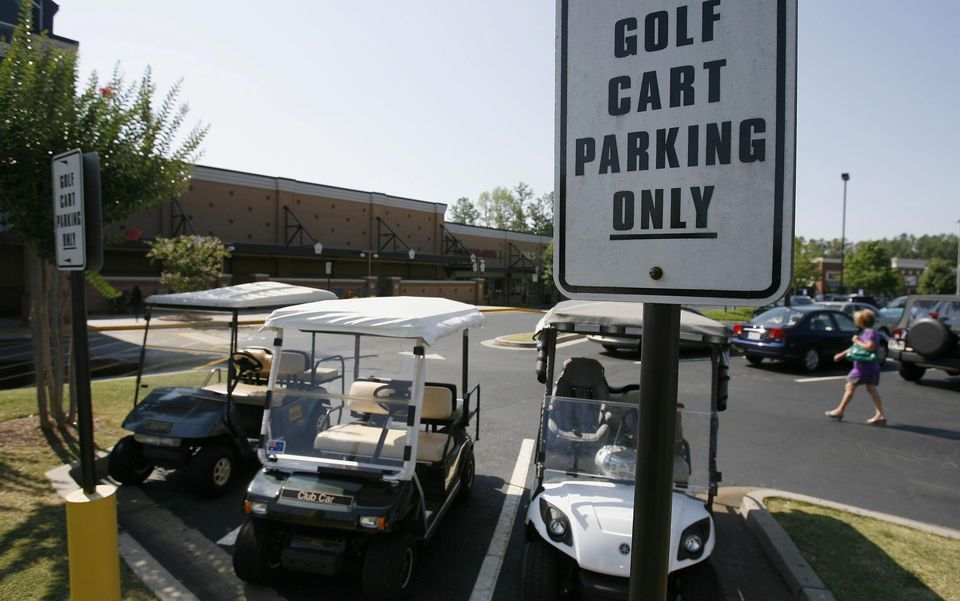 Adds Charm To Peachtree City Which Is Known For Its Winding Golf Cart Paths Peachtree City City Georgia Homes