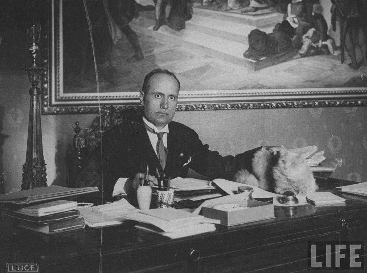 Benito Mussolini - hilarious