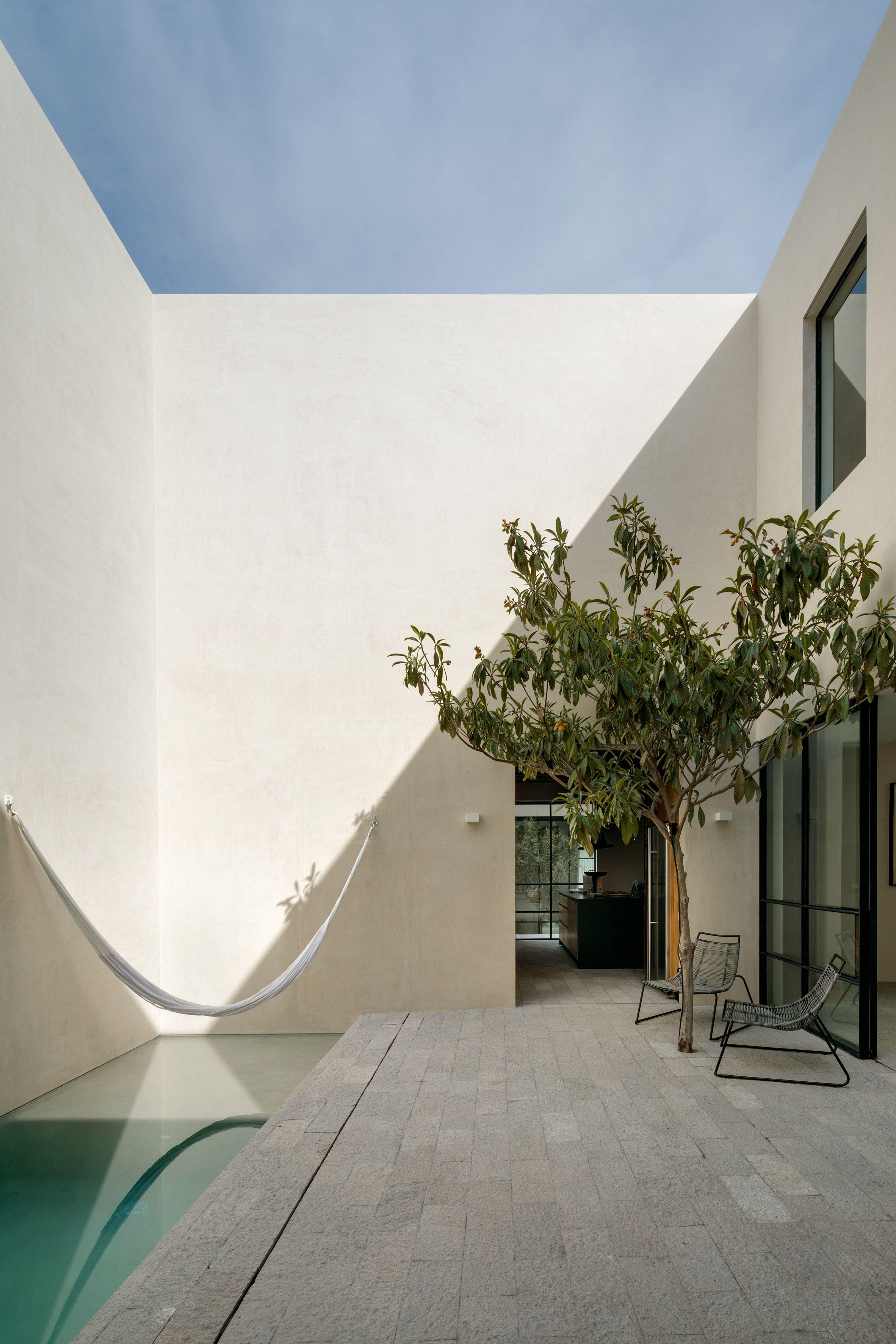 Three Patios And A Swimming Pool Slot Into Casa La