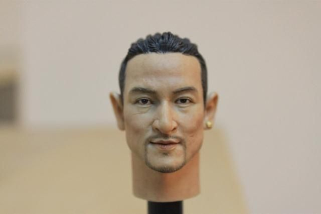 "==> [Free Shipping] Buy Best 1/6 scale figure doll head shape for 12"" action figure doll accessories Hong Kong movie star Jacky Cheung male Head carved Online with LOWEST Price 