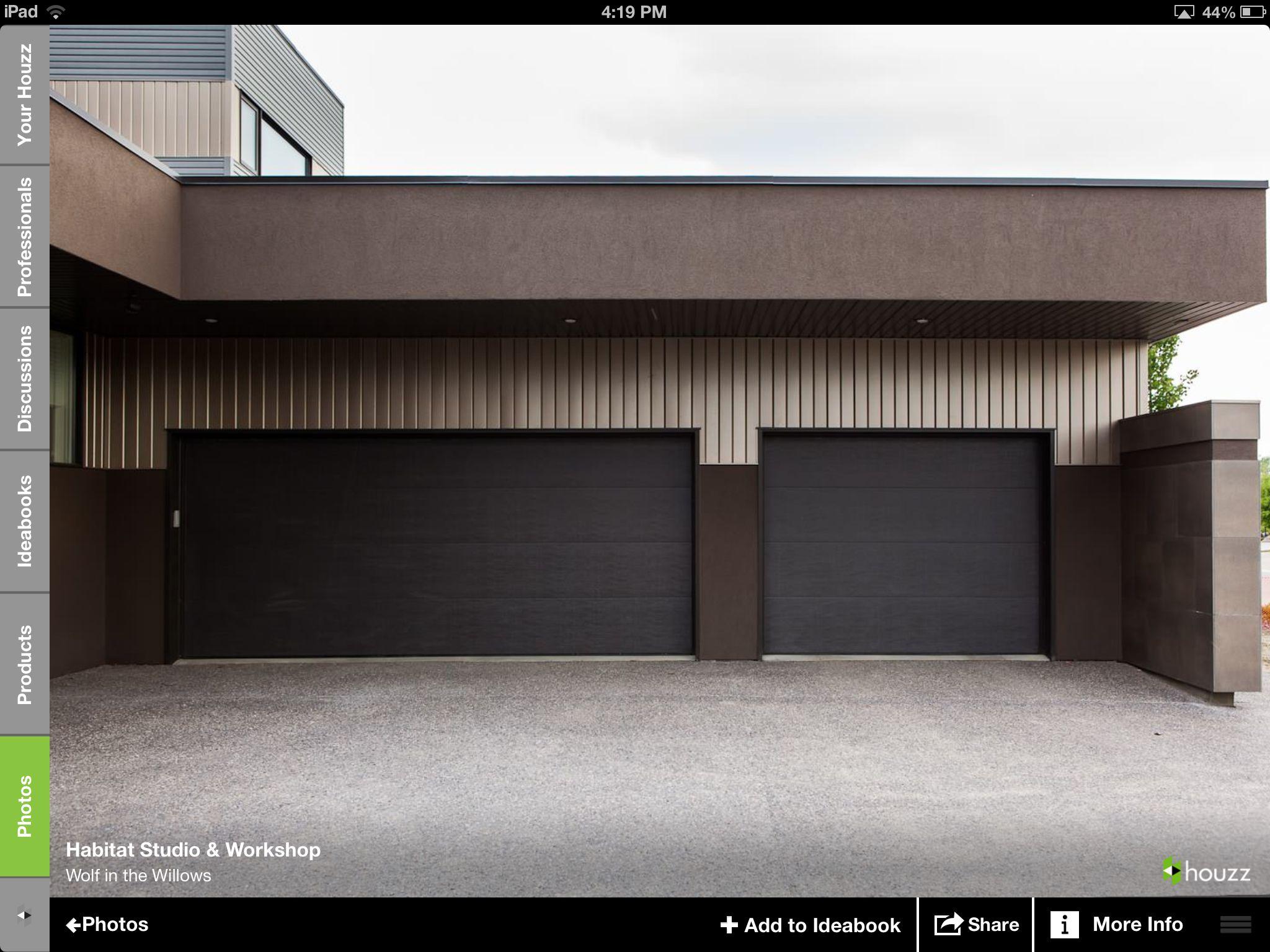 Driveway Garage Door Design Garage Doors Modern Garage Doors