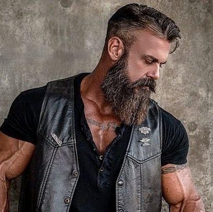 Pin By Fabian Zohan On Hair Board Badass Beard Beard Styles Hair And Beard Styles
