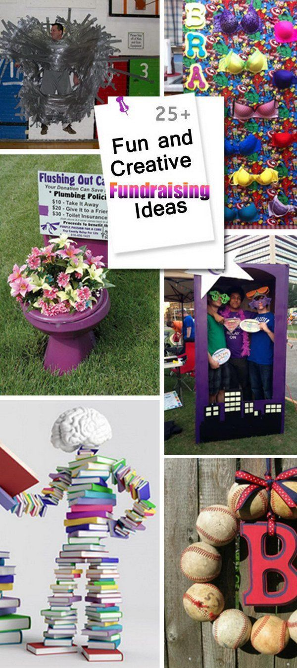 fun and creative fundraising ideas! | fundraising ideas