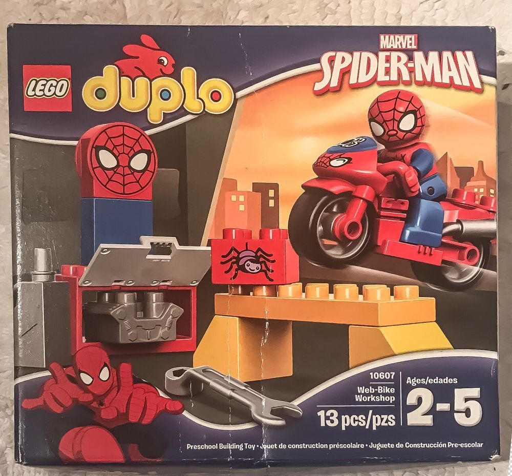 NEVER OPENED LEGO DUPLO Super Heroes Marvel SpiderMan Web