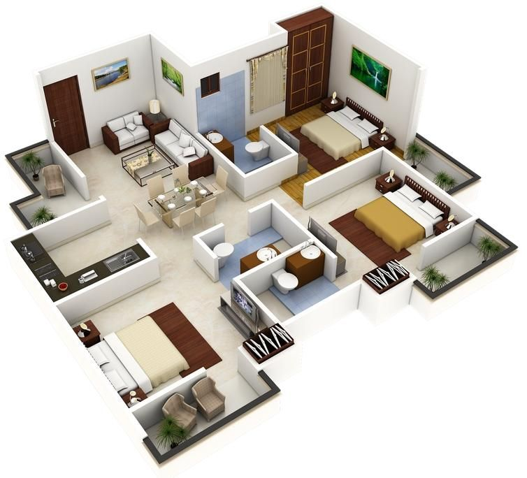 Best 3d Home Plan 3 0 Apk Download House Plans For Sale Home Design Floor Plans 4 Bedroom House Designs