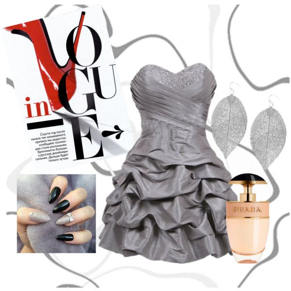 Untitled #36 by veronika3110 on Polyvore featuring polyvore, fashion, style, Humble Chic and Prada